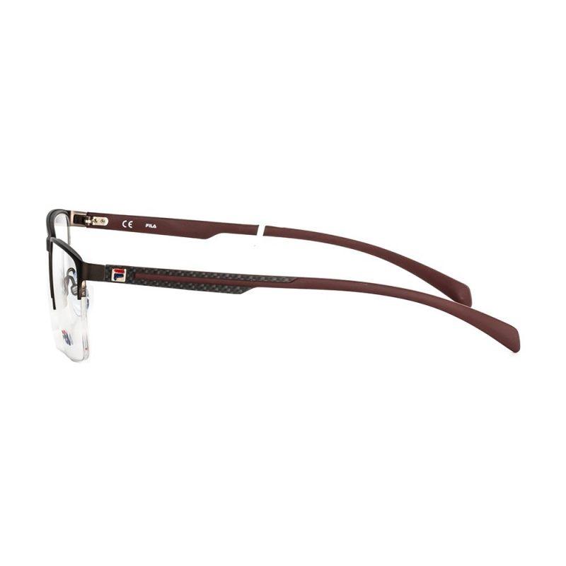 % Fila Men's Metal Half-Frame Eyeglass VF9944