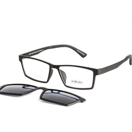 % Stylish Sharp Rectangle Clip On Eyeglass