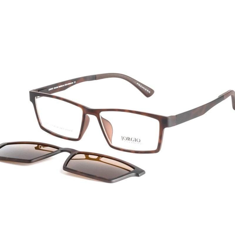 clip-on eyeglass