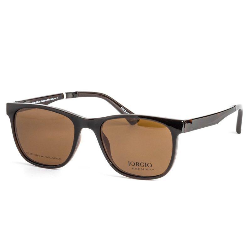 % Eyewear with Clip-On Sunglass