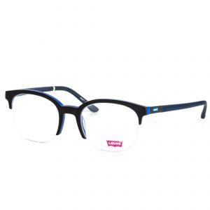 % Levi's Acetate Half-Rim Round Eyeglass LS60270Z