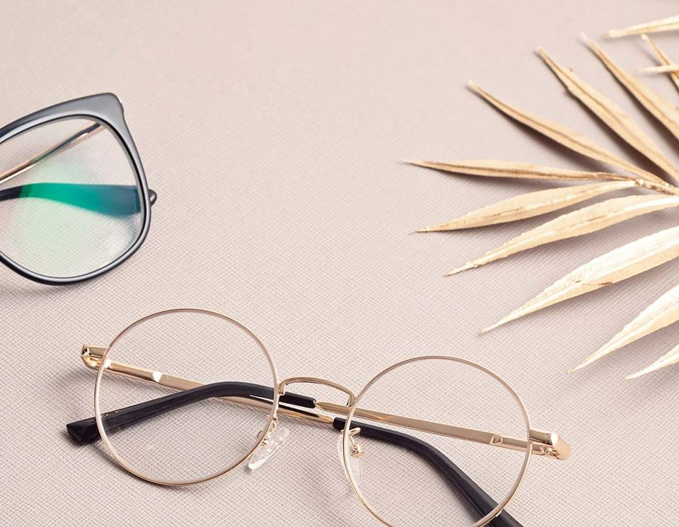 % How to get the sizes from existing eyeglass?