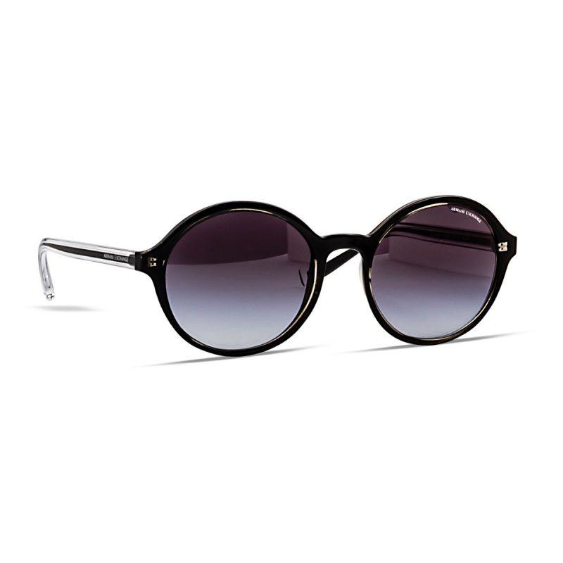 Armani Exchange women's round sunglass