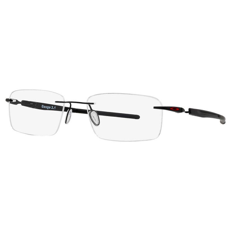 % Oakley Rimless Titanium Eyeglass OX5126 0454 GAUGE 3.1