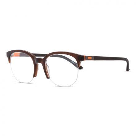 levi's half round eyeglass