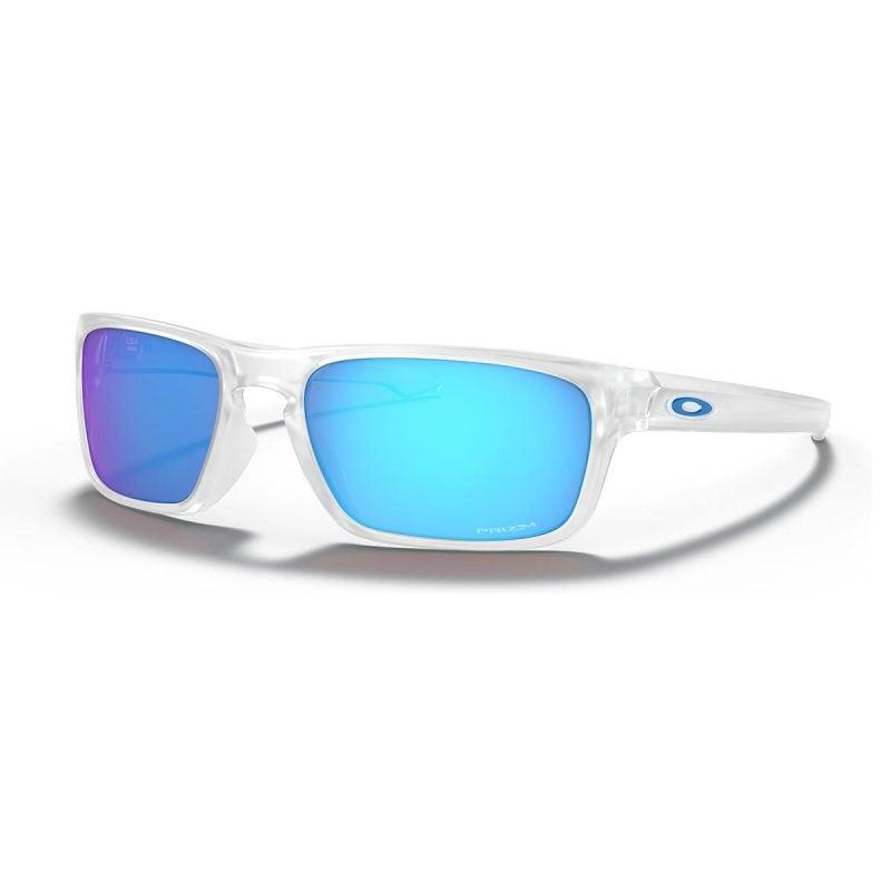 % Oakley Sunglass Silver Stealth 9498 0456