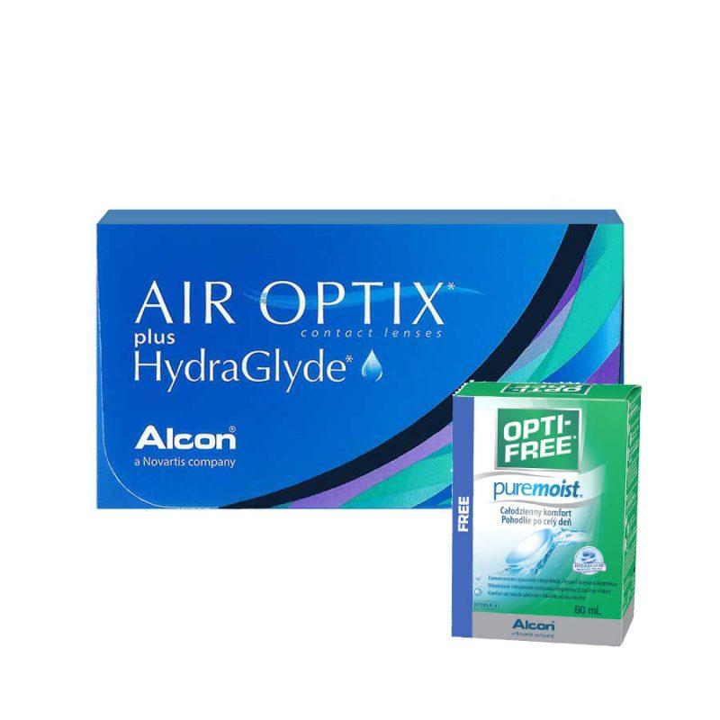 Air Optix HydraGlyde monthly lens