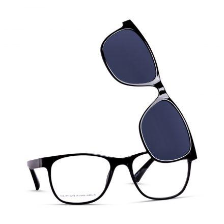 Eyewear with clip-on sunglass
