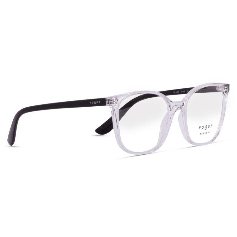 % Vogue Women's Clear Eyeglass Frame Clear VO5356