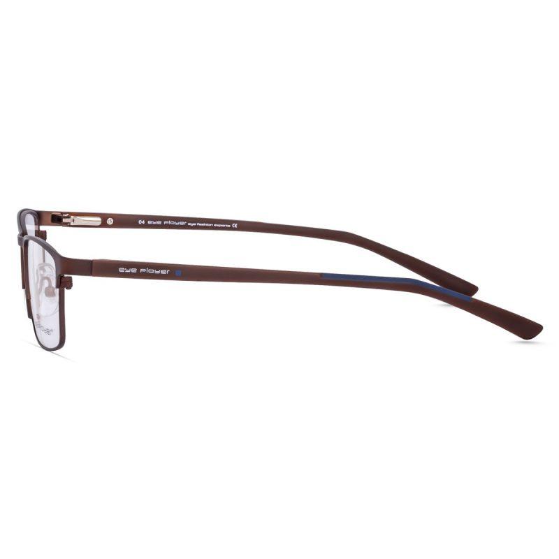 % Men's Compact Eyeglass Frame | Stylish, full Metal Eyeglass