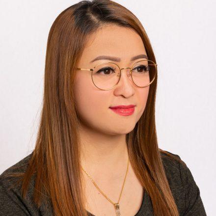 Vogue Women's Round Eyeglass Frame Gold VO4183