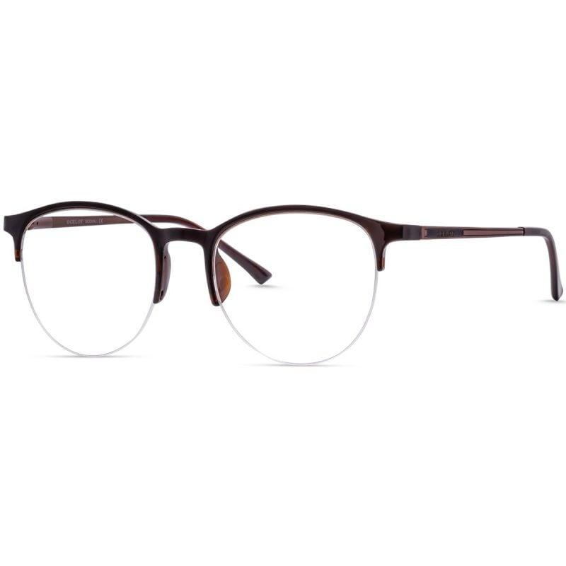 Round half eyeglass