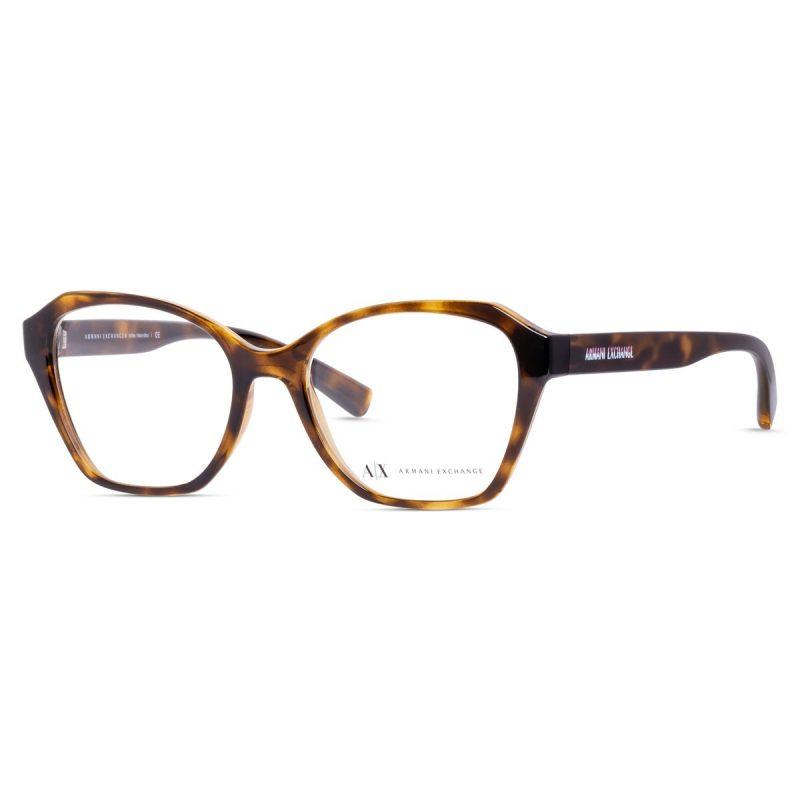% Armani Exchange Frame AX3080 8283