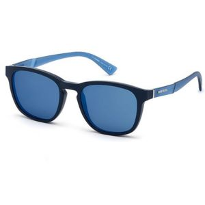 Diesel Frame with Magnetic Clip-On Sunglass DL5334 005