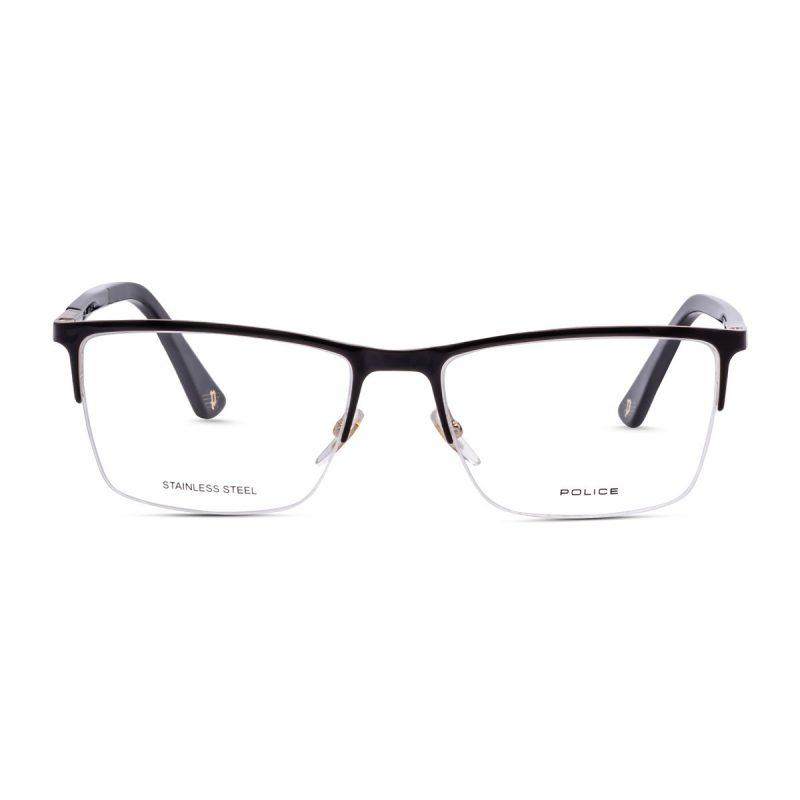 % Police VPLB54 0301 Duel 1 -Men's Half-Metal Eyeglass