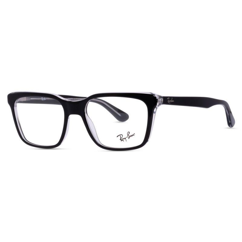 % Rayban New Women's Eyeglass Glossy Black RB5391 2034
