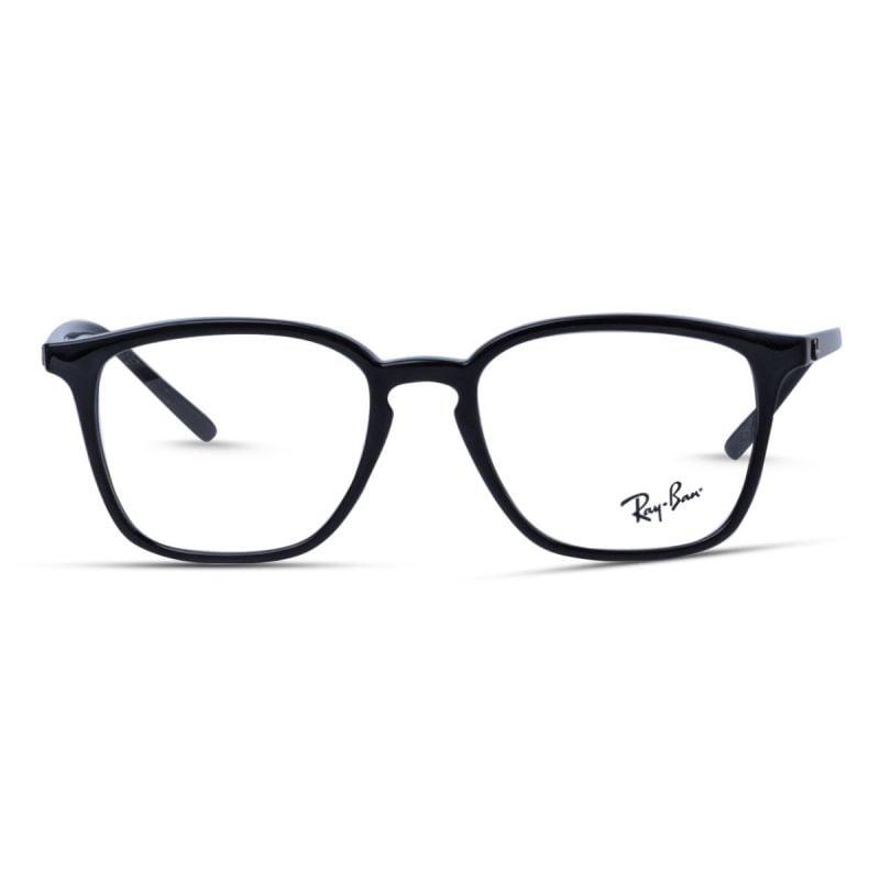% Rayban Frame Glossy Black RB7185 2000