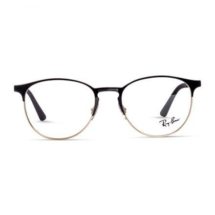% Rayban Frame RB 6375   Ray ban Round Eyeglass Black-Gold