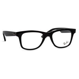 % Rayban Frame RB4640-V 2000 Glossy Black
