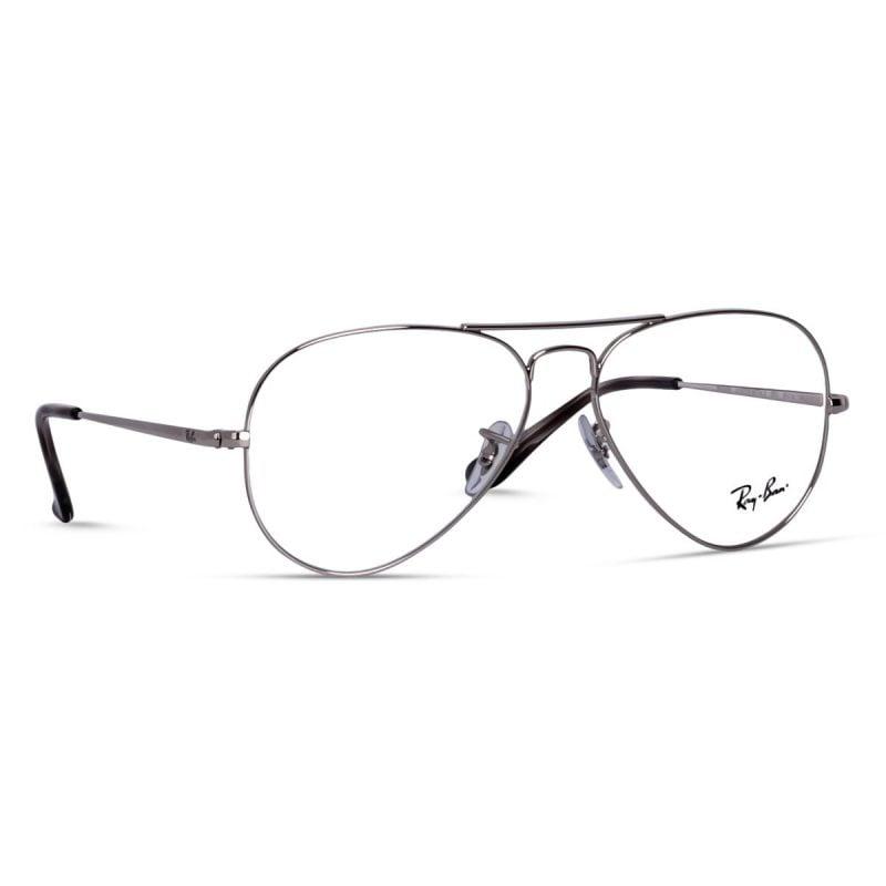 % Ray Ban Eyeglass RB6489 2500 | 58 Size | Aviator | Silver