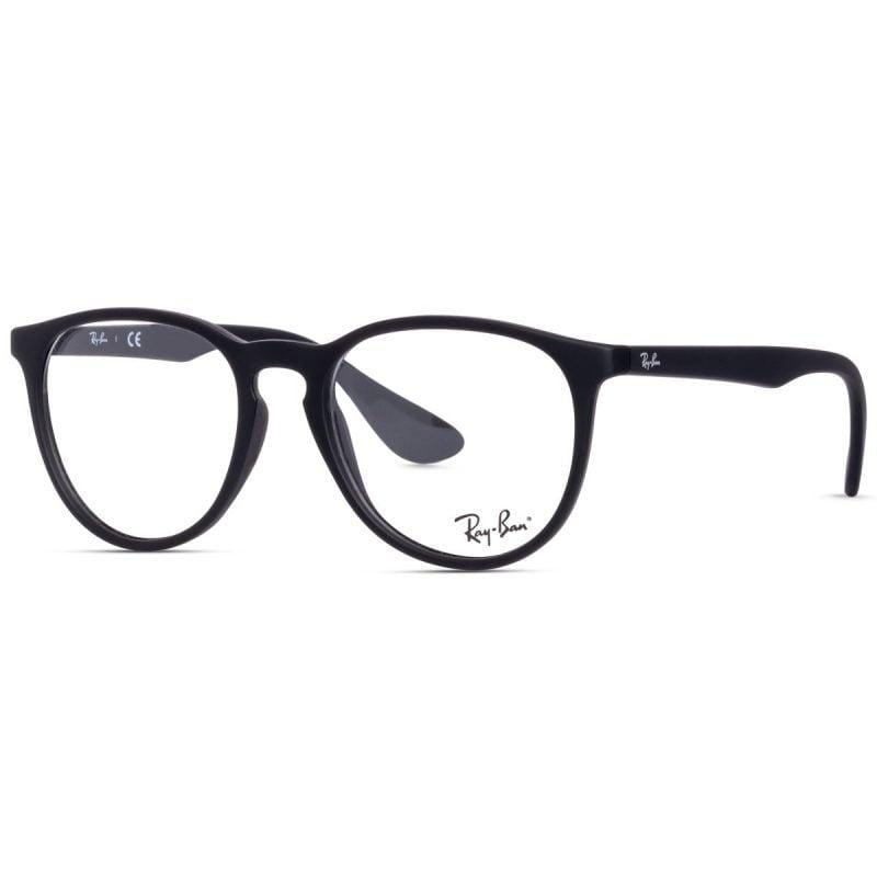 % Rayban Erika Eyeglass Matte Black RB7046 5364