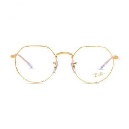 % Rayban Frame RB6465 JACK | Gold