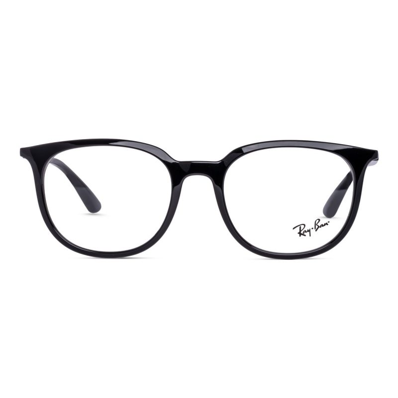 % Rayban New Women's Frame Black RB7190 2000