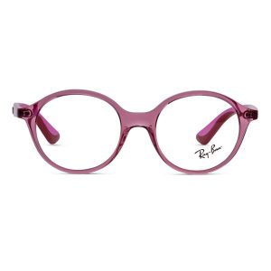 % Rayban Kids Frame Pink Round | Ray Ban Junior RY1606 3777