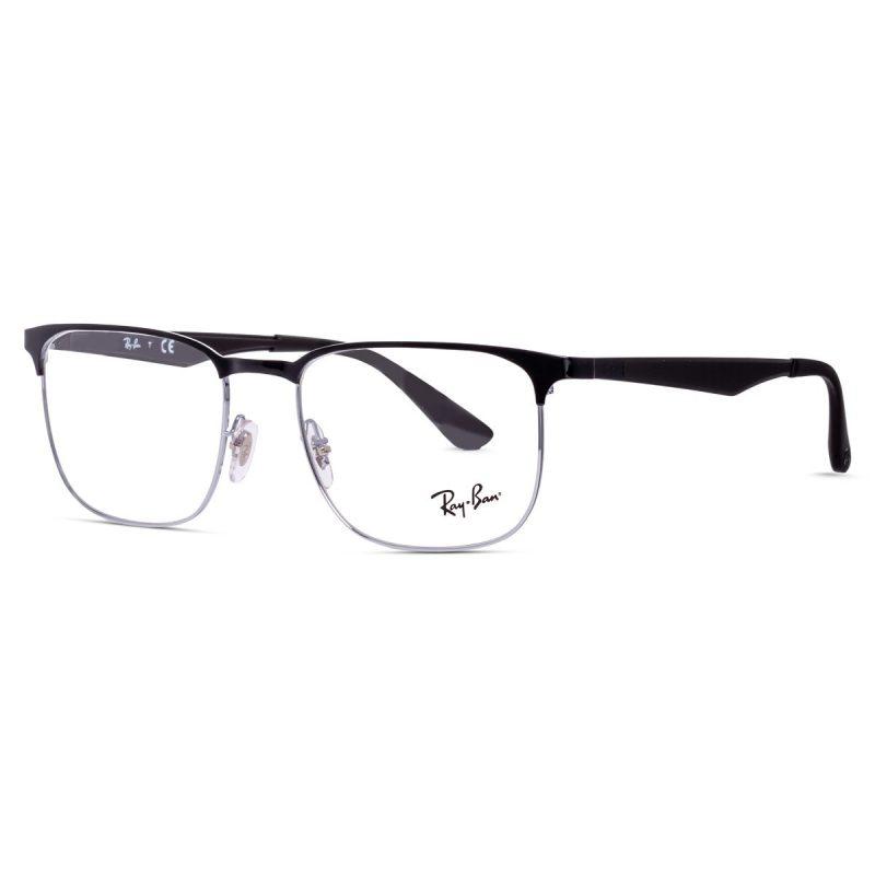 % Rayban New Men's full Metal Frame Black RB6363 2861