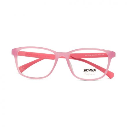 % CROCS Kids Eyeglass JR109 Pink