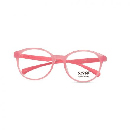 % CROCS Kids Eyeglass JR110 Pink