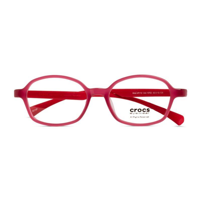 % CROCS Kids Eyeglass JR112 Red