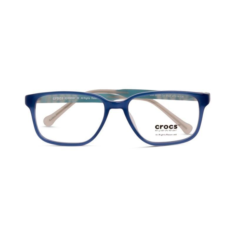 % CROCS Kids Eyeglass JR123 Blue