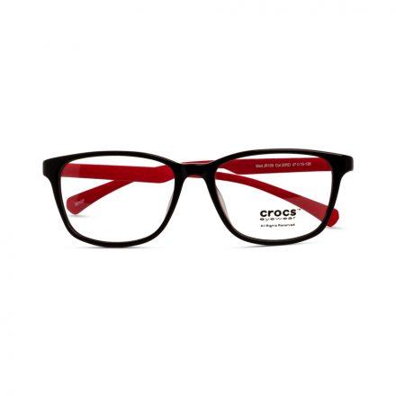 % CROCS Kids Eyeglass JR109 Black-Red