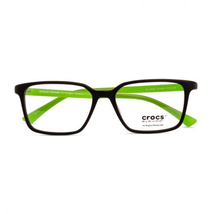 % CROCS Kids Eyeglass JR6062 Black-Green