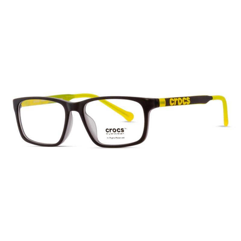 % CROCS Kids Eyeglass JR121 Black-Yellow