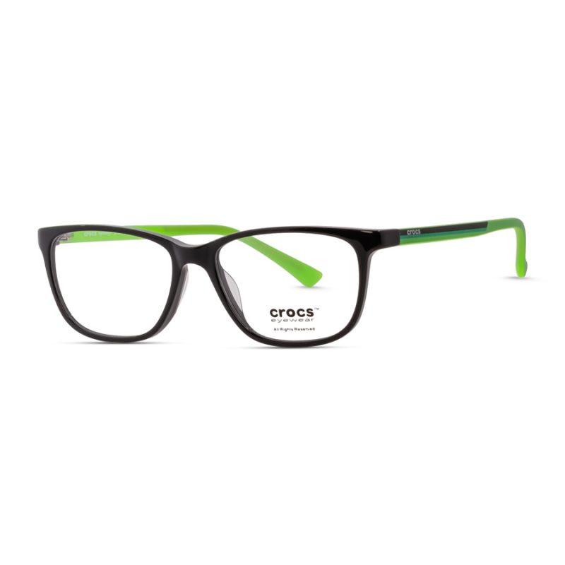% CROCS Kids Eyeglass JR6059 Black-Green