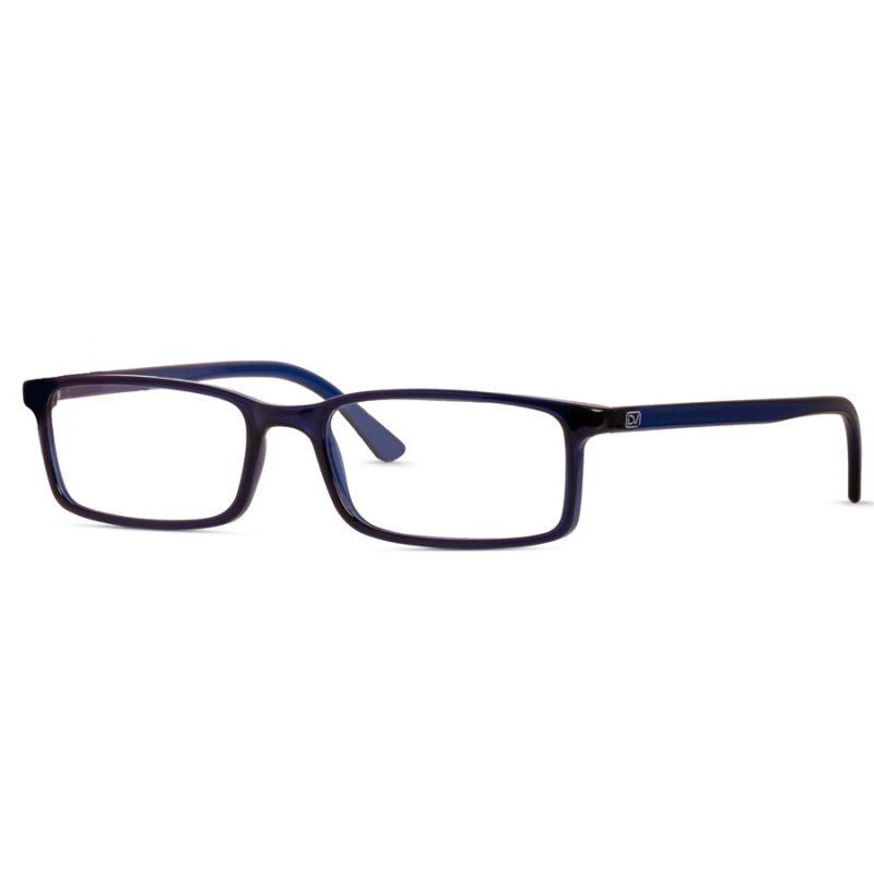 % Men's Rectangle Eyeglass Frame   Lightweight, Slim & Durable Eyeglass