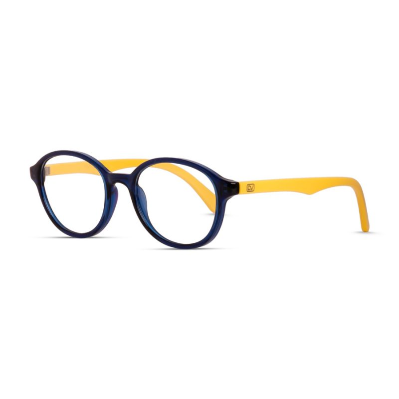 Kids Round Colorful, Light-Weight Eyeglass for 4-7 Years