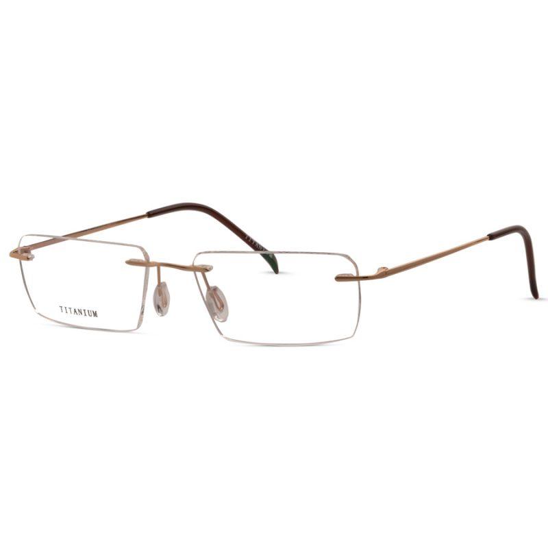 % Titanium Rimless Eyeglass- Budget Range, High-Quality