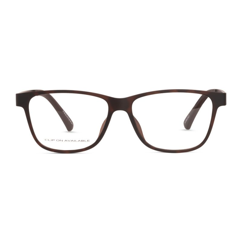 % Magnetic Clip On Eyeglass   Matte Finish, High Quality & Stylish   For Medium Size Faces