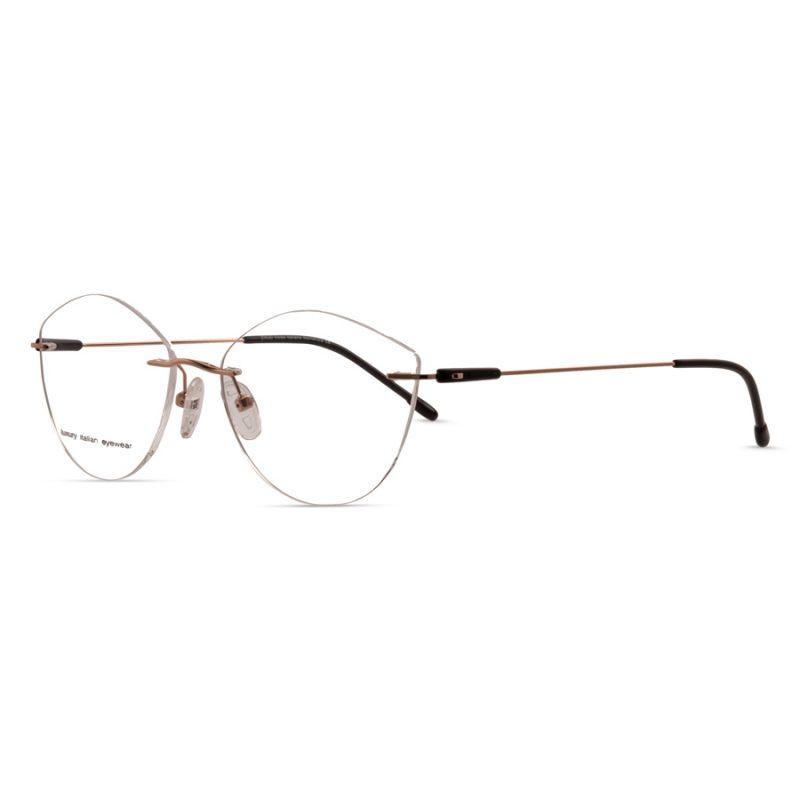 % Women's Rimless Eyeglass- Thin & Light-Weight