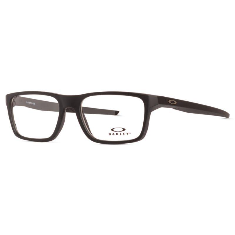 % Oakley Eyeglass Frame OX8164 PORT BOW   MATTE BLACK