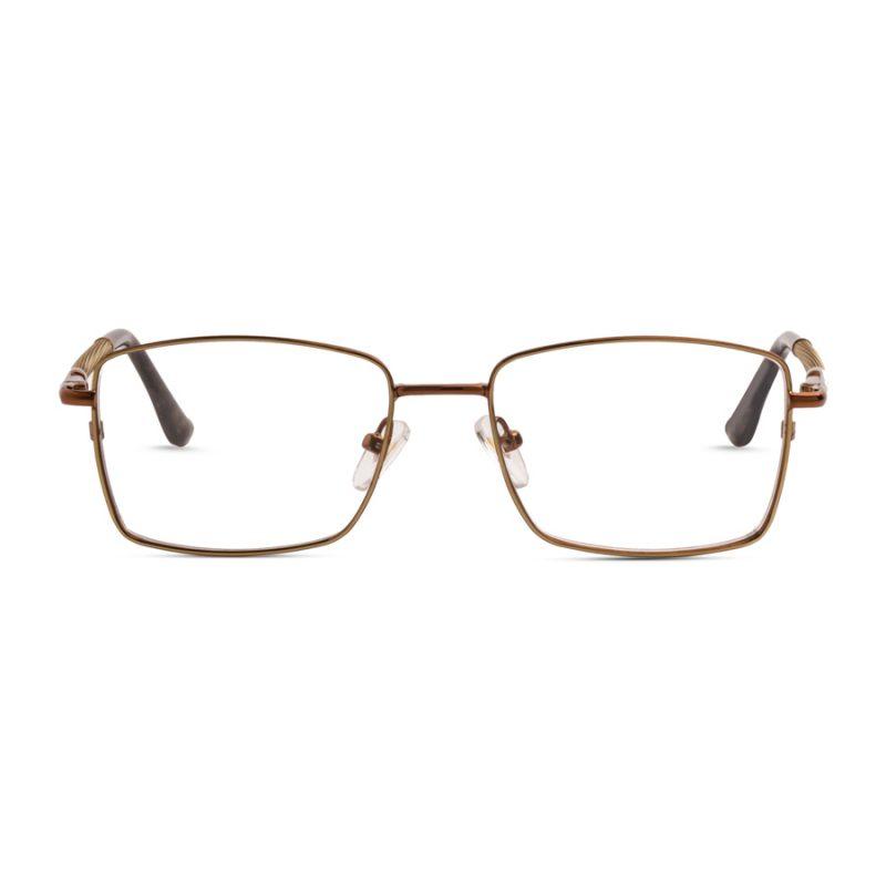 % Men's Eyeglass- Stylish Metal Full frame