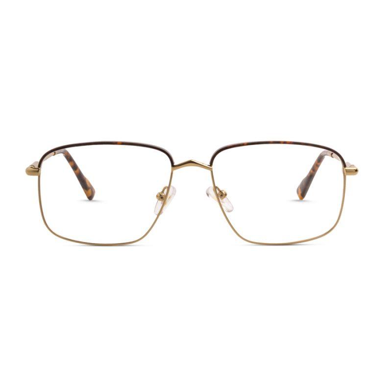 % Men's Eyeglass- Thin Metal Full frame