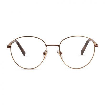 % Round Eyeglass - Unisex, full Metal