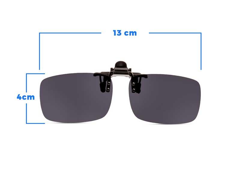 % Clip-On Flip Up Sunglass For Eyeglass Frames