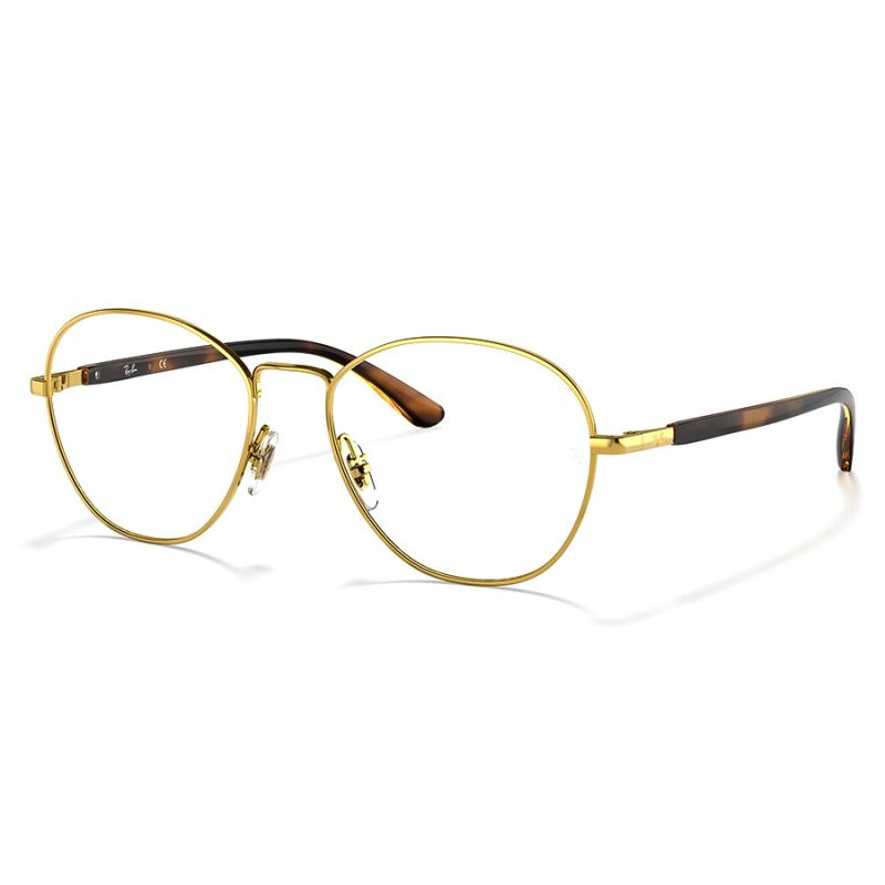 rb6470 rayban frame round gold