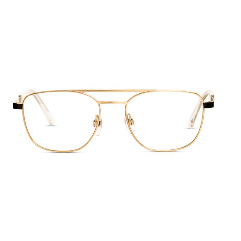 % Diesel Men's Metal Eyeglass Frame DL5403. Gold