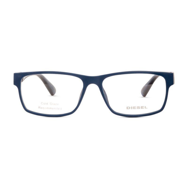 % Diesel Men's Eyeglass Frame DL5379 Matte Blue